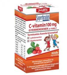 Jutavit C-Vitamin 100mg Rágótabletta Gyermekeknek (60db)
