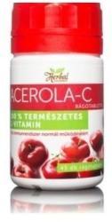 innopharm Herbal Acerola-C Rágótabletta (45db)