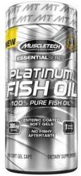 MUSCLETECH Platinum 100% Fish Oil Kapszula (100db)