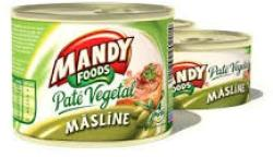 MANDY FOODS Olívás Növényi Pástétom (200g)