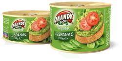 MANDY FOODS Spenótos Növényi Pástétom (120g)
