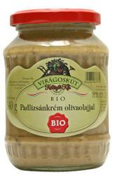 VIRÁGOSKÚT Bio Padlizsánkrém Olivaolajjal (340g)