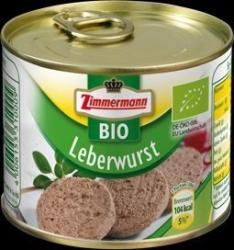 Zimmermann Bio Májpástétom (200g)