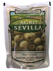 AGRO SEVILLA Magozott Zöld Olívabogyó (142g)