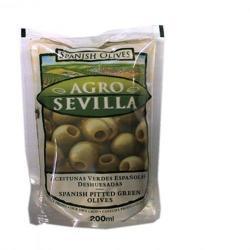 AGRO SEVILLA Zöld Olívabogyó (200g)