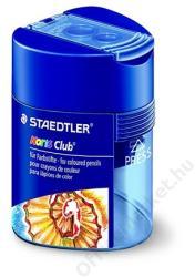 STAEDTLER Kétlyukú Tartályos Hegyező Kék (TS512128)