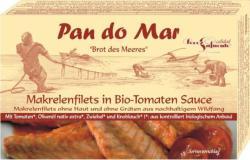 Pan do Mar Makrélafilé Bio Paradicsomszószban (120g)