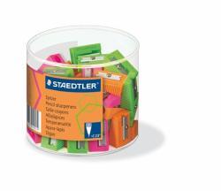 STAEDTLER Neon Egylyukú Hegyező Vegyes Színek (TS51050F60)