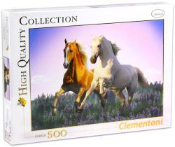 Clementoni Vágtázó lovak 500 db-os (30287)