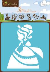 Avenue Mandarine Sablon készlet - 6db - Hercegnő