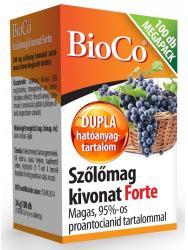 BioCo Szőlőmag kivonat Forte - 100 db