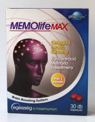 Pharmax MEMOlife Max kapszula - 30 db
