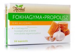 InnoPharm Herbal Fokhagyma+Propolisz kapszula - 30 db