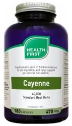 Health First Cayenne bors tabletta - 180 db