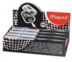 Maped Satellite Egylyukú Fém Hegyező 32db