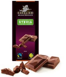 CAVALIER Tejcsokoládé Steviával Édesítve (85g)