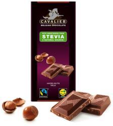 CAVALIER Mogyorós Tejcsokoládé Steviával Édesítve (85g)