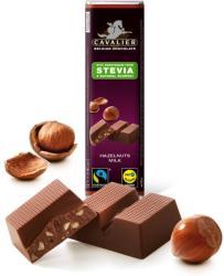CAVALIER Mogyorós Tejcsokoládé Steviával Édesítve (42g)