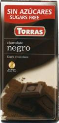 TORRAS Cukor- És Gluténmentes Étcsokoládé Maltitollal Édesítve (75g)
