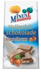 MinusL Laktózmentes Tejcsokoládé (80g)