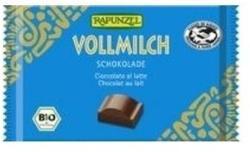 RAPUNZEL Cristallino Bio Tejcsokoládé (100g)