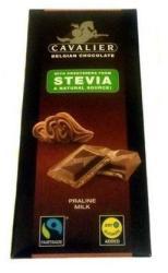 CAVALIER Mogyorókrémes Tejcsokoládé Steviával Édesítve (85g)