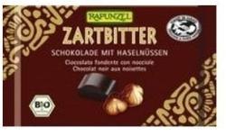 RAPUNZEL Cristallino Bio Félédes Csokoládé Egész Mogyoróval (100g)