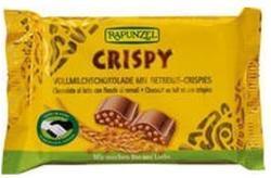 RAPUNZEL Cristallino Bio Tejcsokoládé Ropogós Gabonás Töltettel (100g)