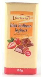 frankofonia Diabetikus Eperjoghurttal Töltött Tejcsokoládé (100g)