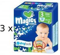 Magics Premium 3 Midi (4-9kg) 93db