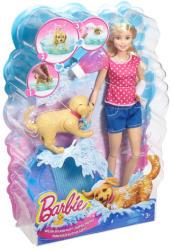 Mattel Barbie - Pancsoló kutyus szett