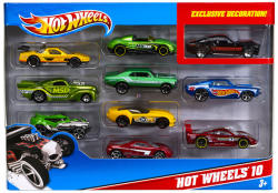 Mattel Hot Wheels - Hot Wheels 10 (10db-os kisautó készlet)