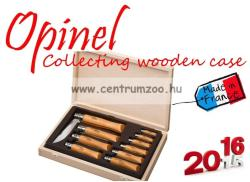 OPINEL Collecting Wooden Case 10db-os