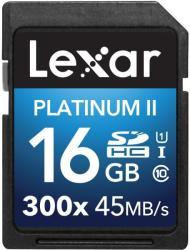 Lexar SDHC Platinum II 16GB Class 10 300x LSD16GBBEU300