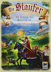 Schmidt Spiele A Staufer dinasztia - német