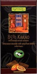 RAPUNZEL Bio Keserűcsokoládé 85% (80g)