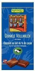 RAPUNZEL Bio Sötét Tejcsokoládé 46% (100g)