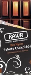 RAWR Bio Nyers Fekete Csokoládé (60g)