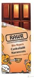 RAWR Bio Nyers Narancsos Csokoládé (60g)