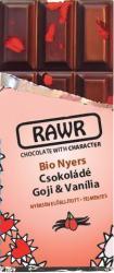 RAWR Bio Nyers Goji-Vanília Csokoládé (60g)