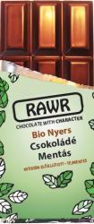 RAWR Bio Nyers Mentás Csokoládé (60g)
