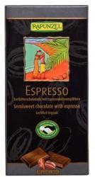 RAPUNZEL Bio Félédes Kávés Csokoládé 51% (80g)
