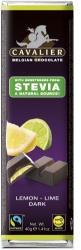 CAVALIER Citrom- És Limekrémmel Töltött Étcsokoládé (40g)