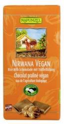 RAPUNZEL Bio Vegán Nirwana Rizstejes Csokoládé (100g)