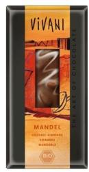 VIVANI Bio Tejcsokoládé Mandulával (100g)