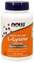 NOW L-lysine 1000mg tabletta - 100 db