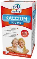 1x1 Vitaday Kalcium 500mg Filmtabletta (100db)