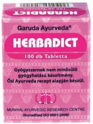 Garuda Ayurveda Herbadict tabletta - 100 db