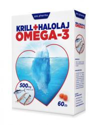 Yes Pharma Krill+Halolaj Omega-3 kapszula - 60db