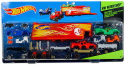 Mattel Hot Wheels - Workshop - Snap Rides teherautó és tréler